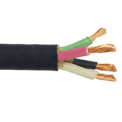 50' 6/4 SOOW Portable Power Cable Flexible 600V USA Wire