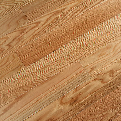 "3.5"" Red Oak Centurion Natural Engineered Hardwood Flooring Sample"