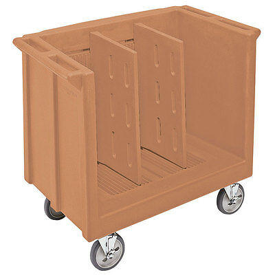 Cambro TDC30 Adjustable Tray and Dish Cart, Coffee Beige - Showroom Model