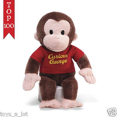 Gund Curious George in Red Shirt 12""