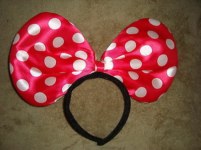 Disney Polka Dot Minnie Mouse Headband Ears