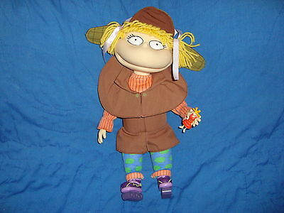 Rugrats Angelica Roller Skating Detective Plush & PVC with arm & head Action 14""