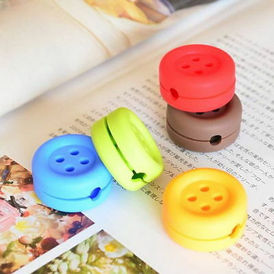 High Quality Button Cable Cord Wire Organizer Bobbin Winder Smart Wrap For Head