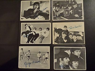 Original Topps Beatles Trading Cards Black and White Series 3 1964