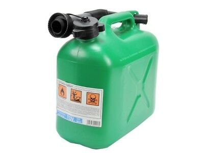 Jerry cans in Green for 5 L