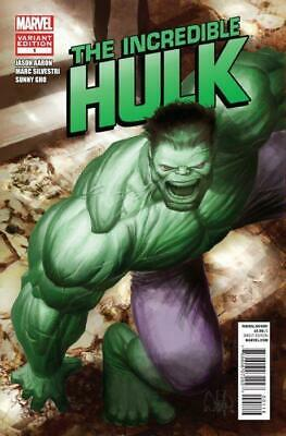 Incredible Hulk #1 (Vol 4) Variant Cover by Whilce Portacio