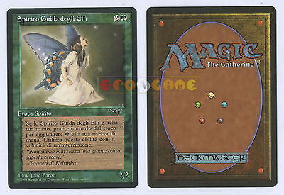 MTG MAGIC - Spirito Guida degli Elfi - Italiana Alleanze Alliances MINT - 1996