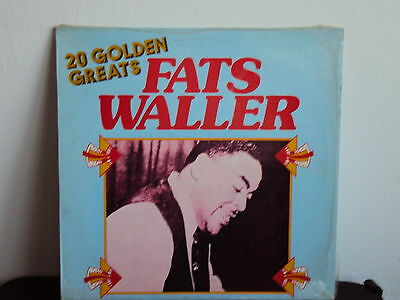 FATS WALLER  - 20 Golden Greats