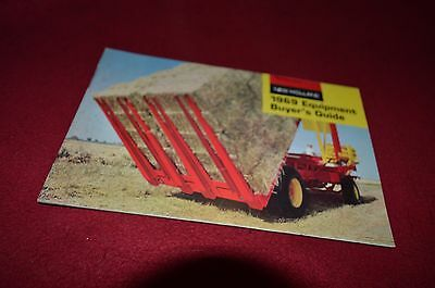 New Holland Buyers Guide For 1969 Dealers Brochure YABE6