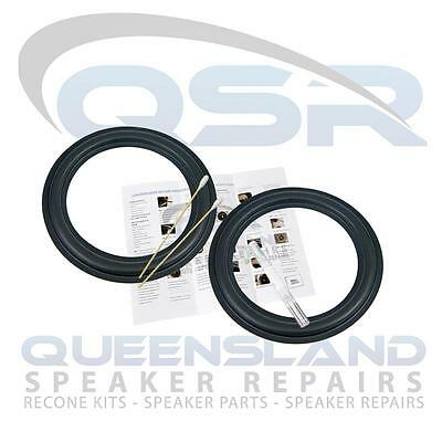 "8"" Genuine Rubber Surround Repair Kit for DynAudio Speakers 24W75 21W54 (SR8DYN)"