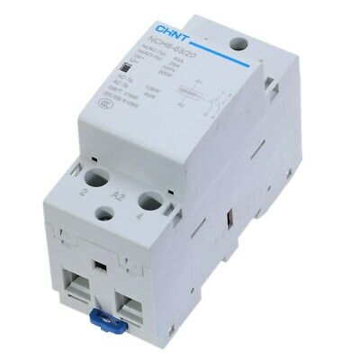 CHINT NCH8-63/20 Modular AC Contactor AC230V 63Amp 2NO