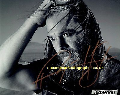 Ryan Hurst Opie Sons Of Anarchy Outlaw Motorcycle Gang Autograph HS A UACC RD 96