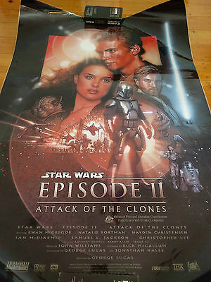 Star Wars Episode 2 II Attack of the Clones - Laminated Large Movie Poster