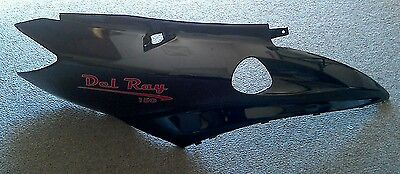 NEW Right Side Rear Fender for CPI B05 QLink 150 Peirspeed Delray Black