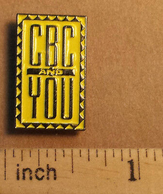 CBC And You - Metal Lapel Pin