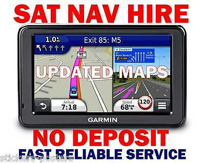 SAT NAV RENTAL HIRE Africa Middle East South Africa GPS from £9.99 GARMIN TOMTOM