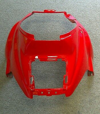 NEW TGB Delivery Scooter Body Part, Under Seat Front Plastic Cover OEM Red