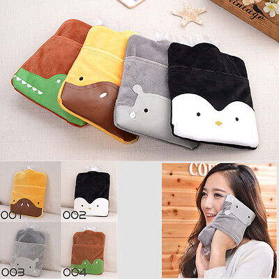Home Necessary Outdoor Cartoon Hot Water Bottle Bag Warm Relaxing Heat & Cold