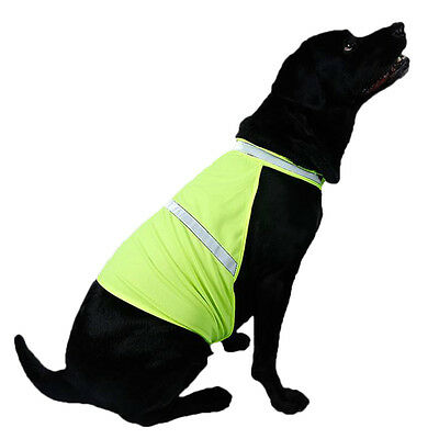 High Visibility Safety Reflective Vest Clothes Jacket Coat Jacket Pet Dog S/M/L