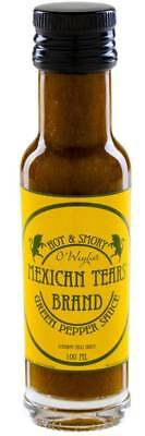 Mexican Tears Green Pepper Sauce (100ml) Chilisauce