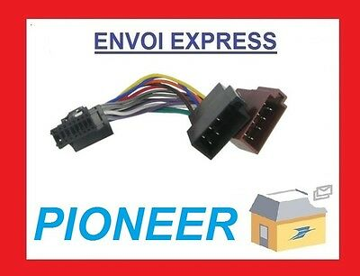 Cable Iso Autoradio Pioneer Deh-1550B Deh-1590R Deh-1600R Deh-1600Rb Fh-P