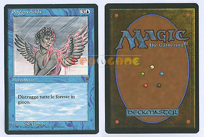 MTG MAGIC Pioggia Acida - Acid Rain - Italiana Leggende Legends LEG MINT - 1995