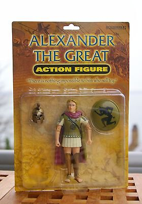 Alexander the Great Action Figurine 2004 with Helmet & Shield by Accoutrements