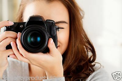 Learn Digital Photography Dslr Camera Training 4 Dvd's Video Tutorials Guide