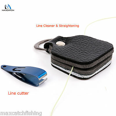 Fishing Line Cutter Scissor And Line Straightening Cleaner Small 2 In 1