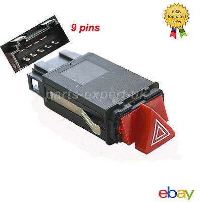 Brand NEW FOR AUDI A3 A4 B5 A6 C6 HAZARD WARNING LIGHT SWITCH FLASHER RELAY