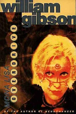 Mona Lisa Overdrive by William Gibson (English) Paperback Book Free Shipping!