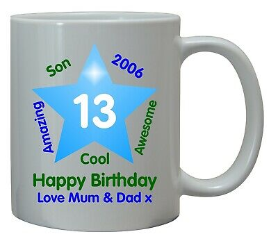 16th Birthday Boys Gift For Him Mug Coaster Personalised