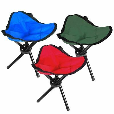 Folding Portable Travel Chair/Stool For Outdoor Camping Fishing Hiking S4