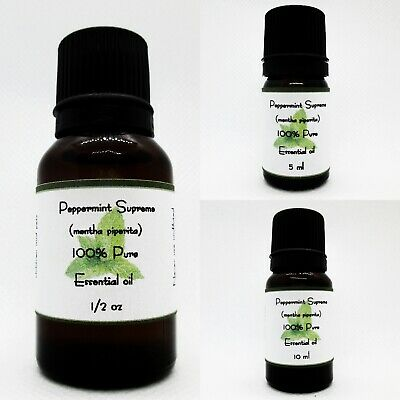 Peppermint Supreme Pure Essential Oil Buy 3 get 1 Free add 4 to cart