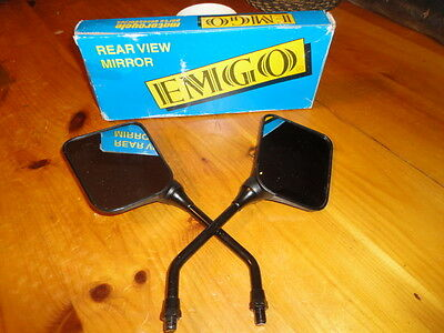 NOS EMGO REAR VIEW MIRROR RECTANGULAR 20-46220 freeshipUS/CAN