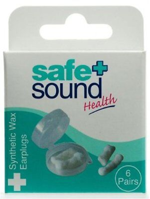 Sa Wax Ear Plugs 6 Prs Pk Srt