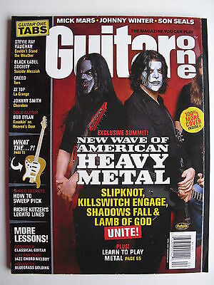 SLIPKNOT  KILLSWITCH ENGAGE  SHADOWS FALL  LAMB OF GOD  April 2005 Guitar One
