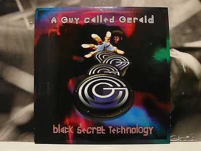 A Guy Called Gerald - Black Secret Technology 2 Lp Uk 1996 Reissue Jb 30