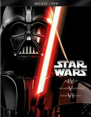 Star Wars Trilogy: Episodes 4-6 - BLU-RAY/DVD COMBO Region 1 Free Shipping!