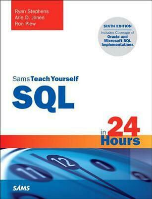 SQL in 24 Hours, Sams Teach Yourself by Ryan Stephens (English) Paperback Book F