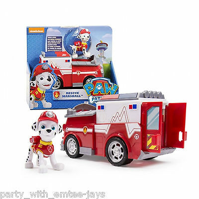 Paw Patrol Marshall Fire Fighting Truck Toy - Aussie Authentic - Paw Patrol Toys