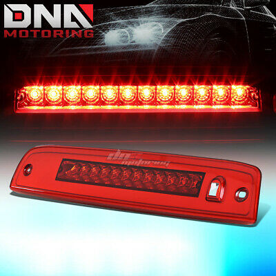 For 2003-2016 Ford Expedition Led Third 3Rd Tail Brake Light Stop Lamp Red Lens