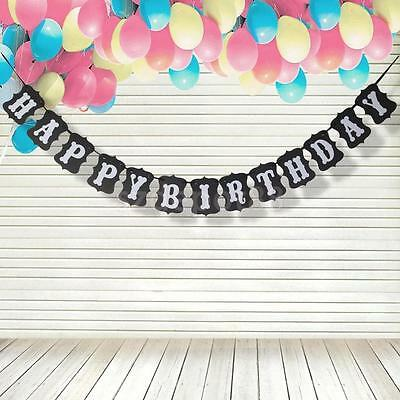 Adult Children Birthday Decor Bunting Party Banner Garland Photo Props Sign