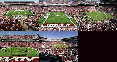 69b33179536 Alabama Crimson Tide Bryant Denny Stadium (5) 8x10 Prints NCAA College  Football