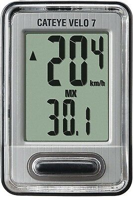 CATEYE VELO 7 Bicycle Bike Cycle Computer VL520 Speed Express Post