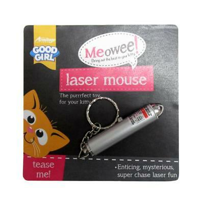 Good Girl MEOWEE LASER MOUSE Cat Kitten Interactive Chase Game Teaser Toy 11cm