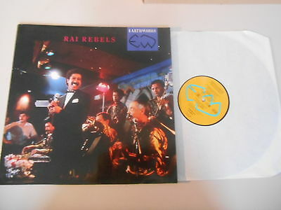 LP VA Rai Rebels : Earthworks (8 Song) VIRGIN REC  Cheb Khaled Cheb Fadela