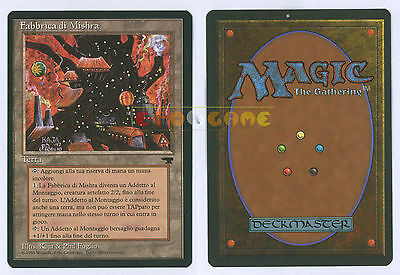 MTG MAGIC Fabbrica di Mishra Mishra's Factory - Italiana Rinascimento MINT 1995