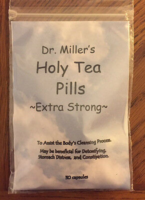 NEW! - Dr. Miller's Holy Tea Capsules Extra Strong – NEW!  + FREE S/H