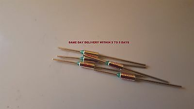 LOT OF 15  PCS RY SEFUSE Cutoffs SF 126 E Thermal Fuse 123 °C 15 A 250 V